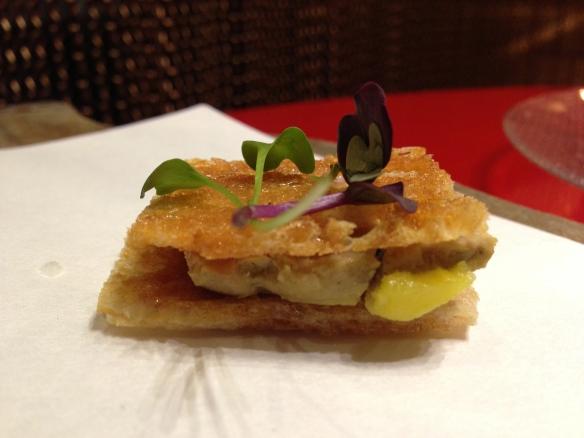 jaleo.foie gras
