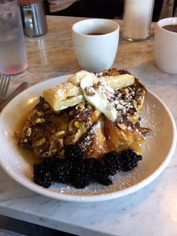 blue door.baklava french toast