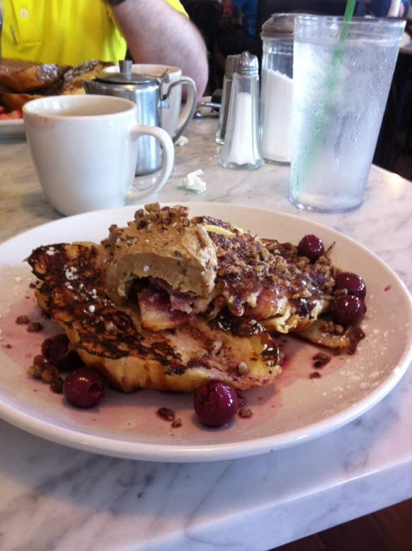 blue door.french toast cherry