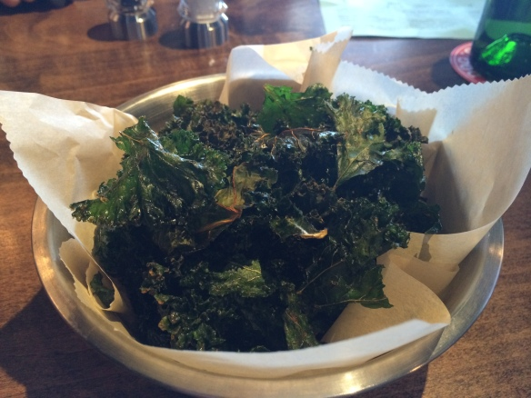 Table Six.kale chips